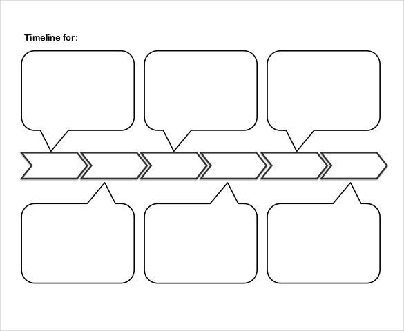 Timeline Template | ebook