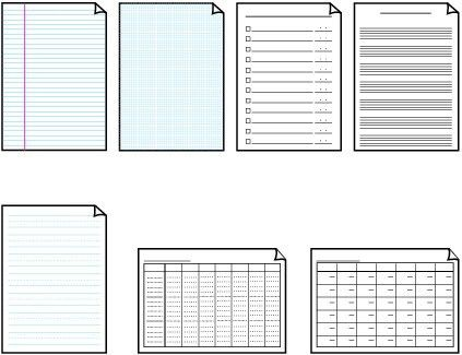 Canon Knowledge Base - Printing Template forms - MX340