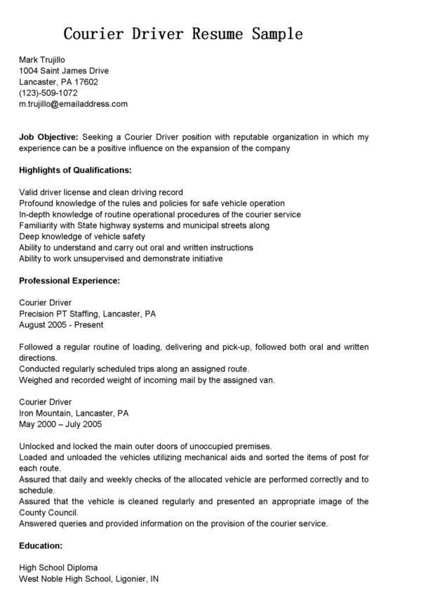 sample bus driver resume also template sample with sample bus ...