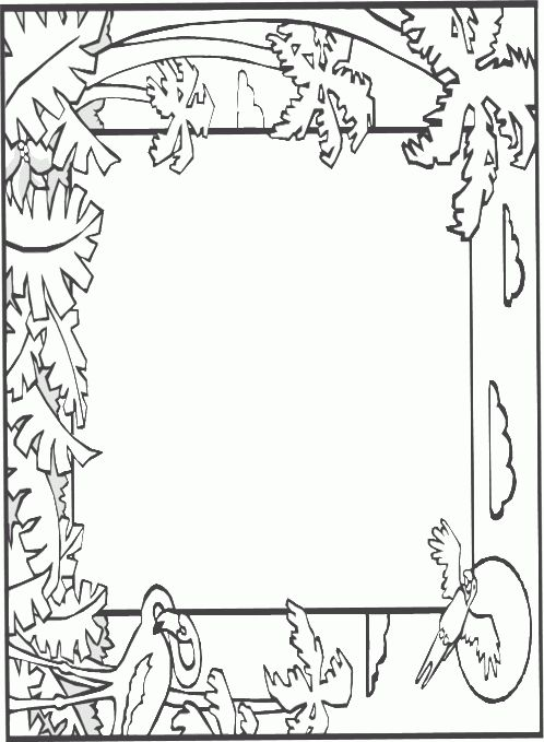abcteach Printable Worksheet: Writing Paper without Lines: Rain ...