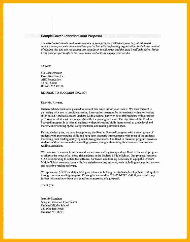Fundraising Proposal Sample [Template.billybullock.us ]