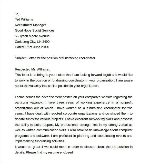 grant cover letter how to write a grant proposal cover letter - Fundraiser Cover Letter