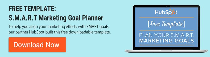 How to Set Smart Marketing Goals for 2017 [Free Template]