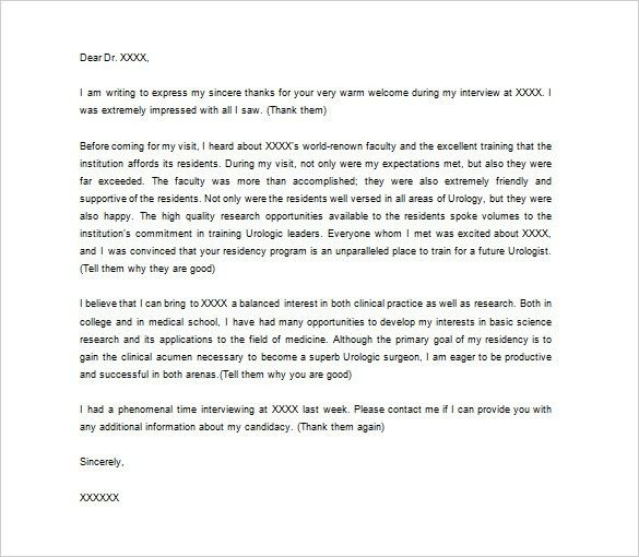 Medical Thank You Letter – 10+ Free Sample, Example Format ...