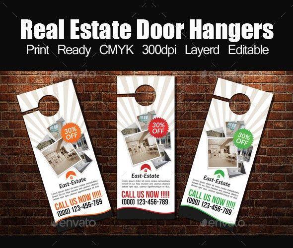 Real Estate Door Hanger Template by designhub719 | GraphicRiver