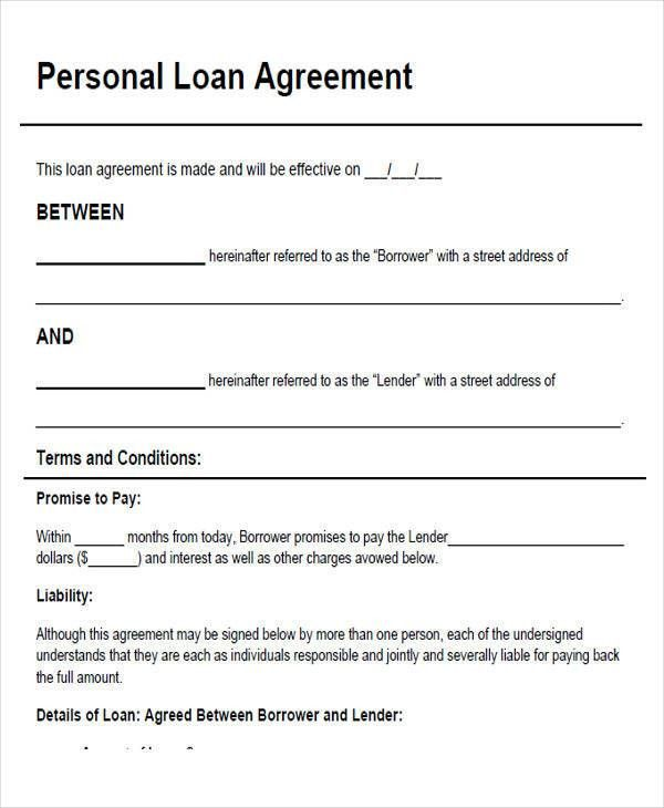 43+ Simple Agreement Forms