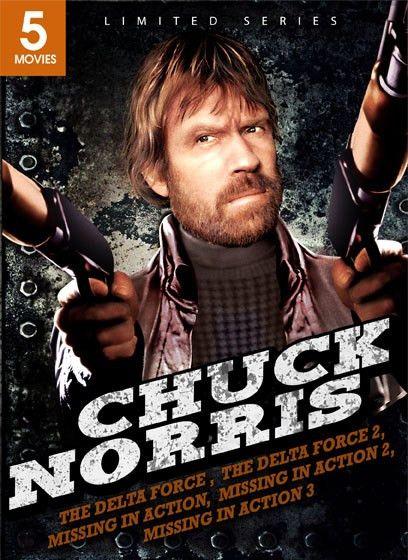 Chuck Norris DVD Set: Delta Force, Delta Force 2, Missing in ...