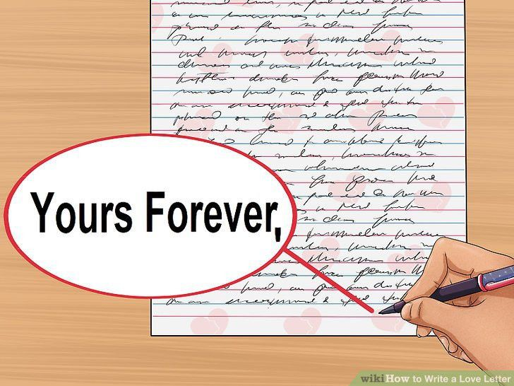 How to Write a Love Letter (with Sample Letters) - wikiHow