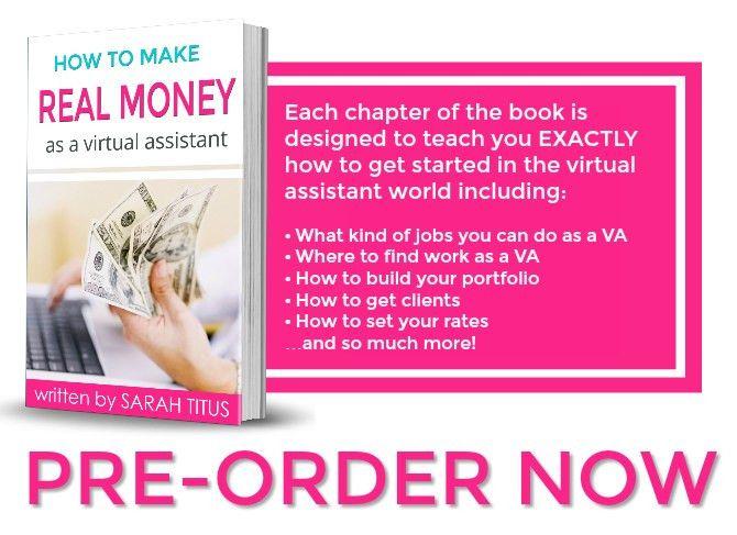 Making Real Money as a VA - Sarah Titus