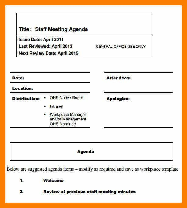 Meeting Agenda Format. Temp_Meetingagendastaff Jpg This Staff ...