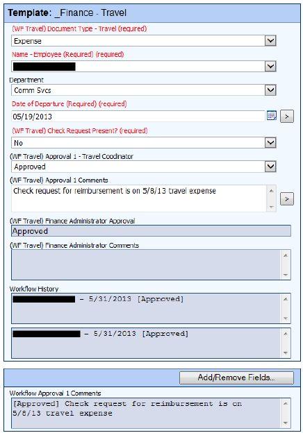 How Palm Beach Gardens, FL, Automated Travel Authorization with ECM