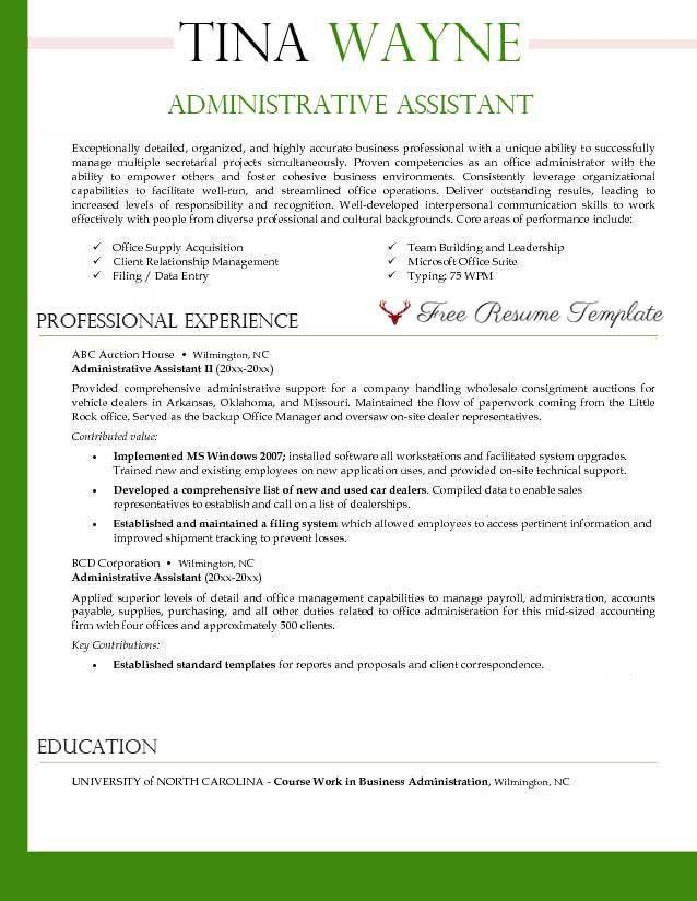cover letter samples administrative assistant classic ...