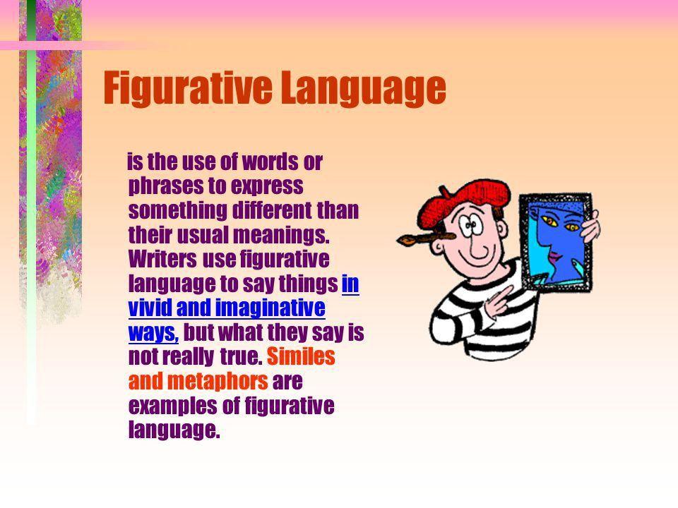Figurative Language Similes, Metaphors, Personification ...