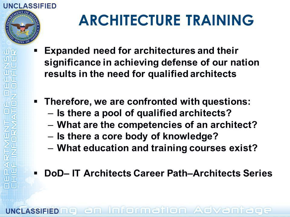 DoDAF Delivering Architectures to the World - ppt download