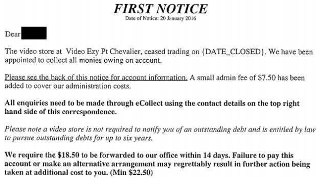 Debt collectors chase Video Ezy late fees after store shuts ...