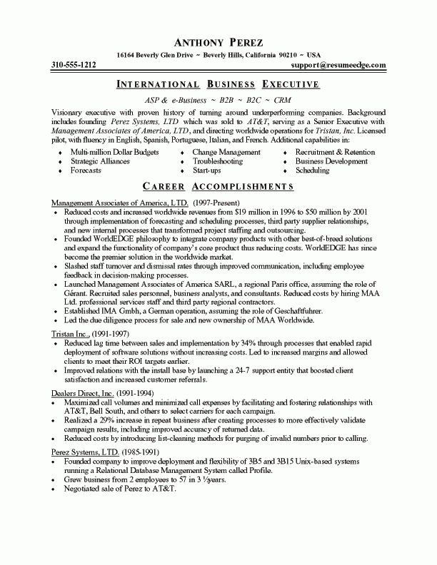 updated. best resume sample top resume sample. top sample resumes ...