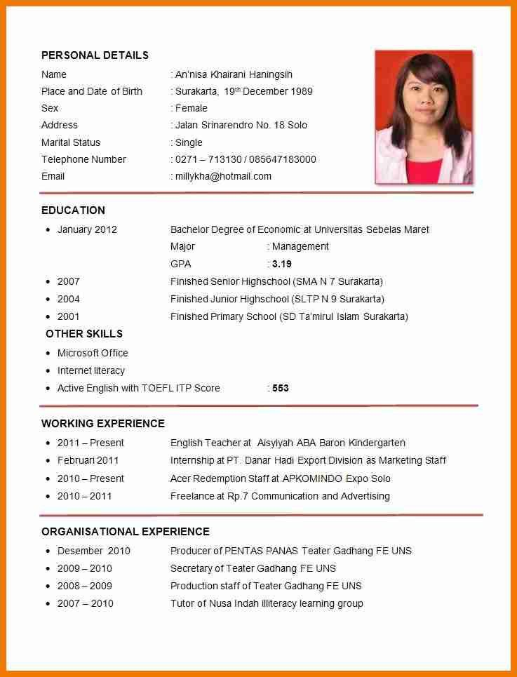 Cheerful Formal Resume 15 Free Downloadable Resume Templates ...