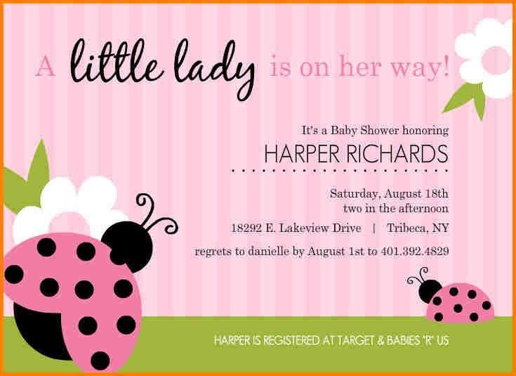 5+ baby shower invitations templates editable | artist resume
