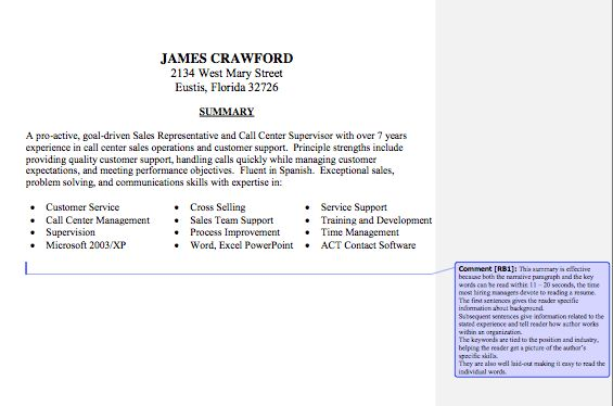 Example Of Resume Summary Statements 16 Resume Synopsis Examples ...