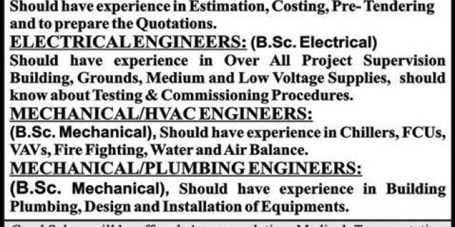 Electrical Engineer Job, SAIF Manpower Services Job OMAN ...