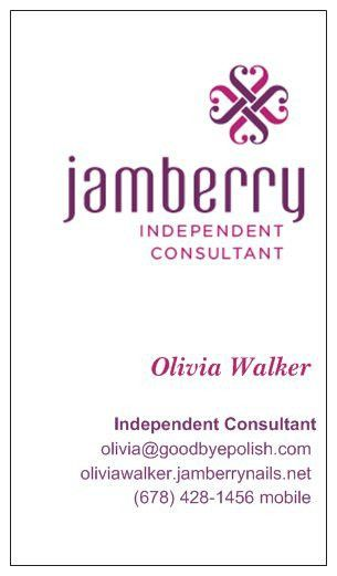 Just ordered my Jamberry business cards from Vistaprint. I'm SO ...