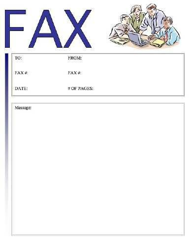 Meeting Fax Cover Sheet at FreeFaxCoverSheets.net