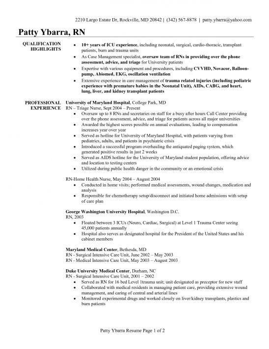rn resume sample rn resume hospice sample customer service resume ...