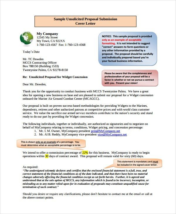 Sample Business Proposal Letter to Client - 7+ Documents in PDF, Word