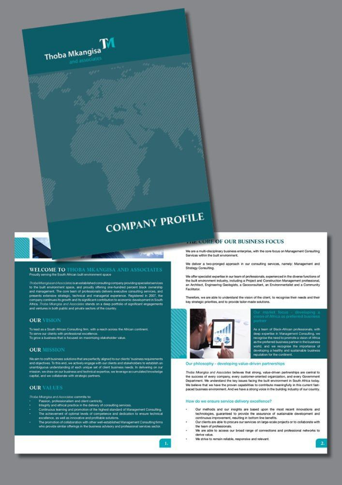 Company Profile Samples - proudly created by CV Profs 2015 | CV ...