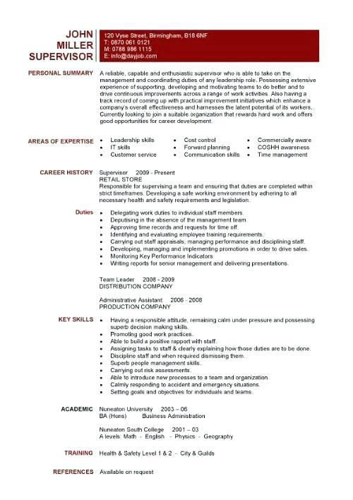 Skills On Resume Example – Okurgezer.co