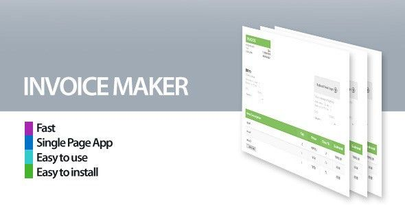 Invoice Maker/Creator by borni | CodeCanyon