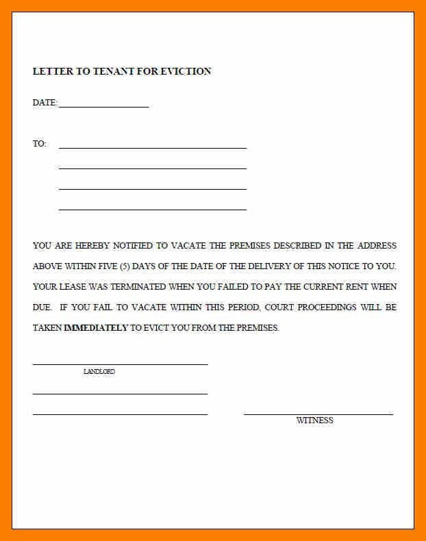 7+ standard eviction notice | janitor resume