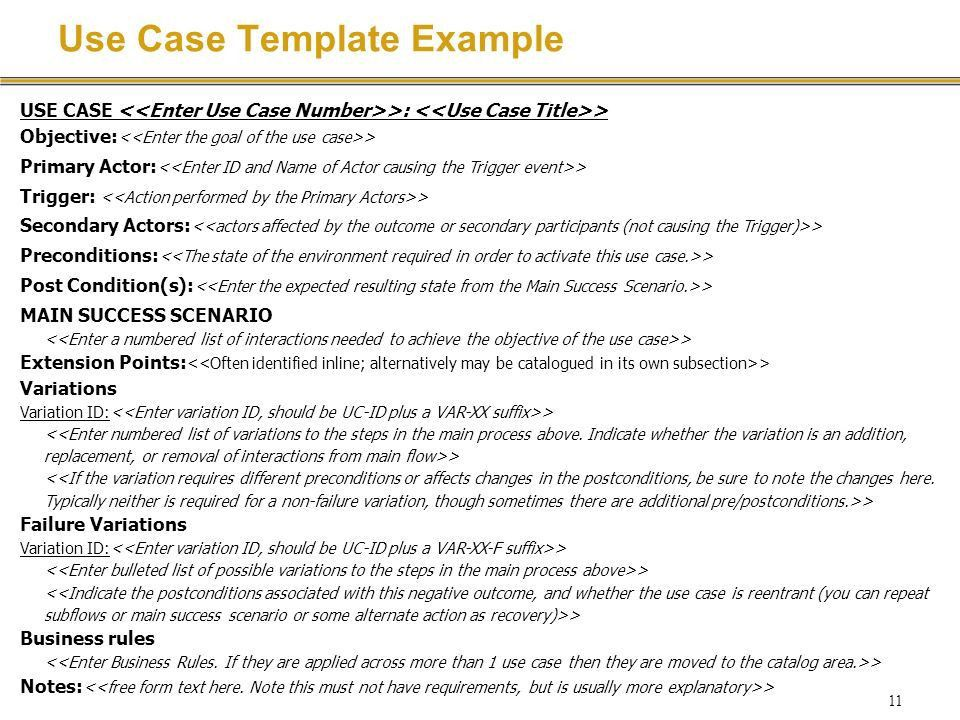 Requirements Specification with Use Cases - ppt download