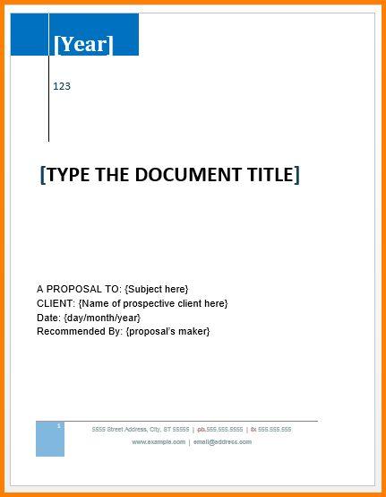 8+ business proposal template microsoft word | artist resume