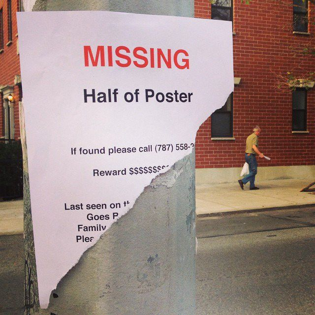 Strangely Funny Missing, Lost, and Wanted Signs Posted Around NYC ...