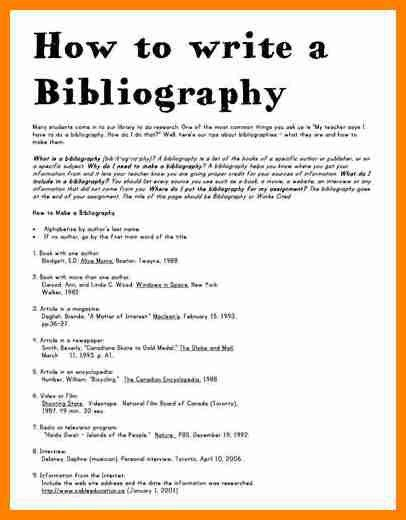 12+ example of bibliography | buyer resume
