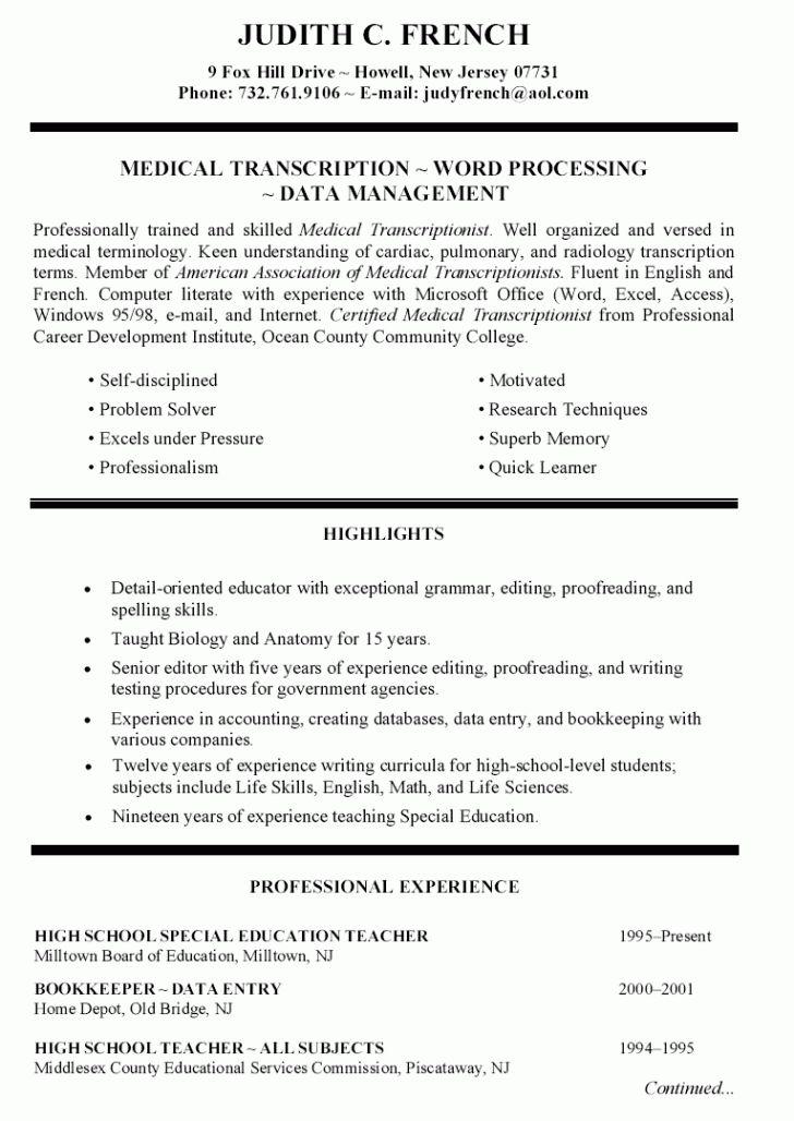 Acting Resume | Inspiredshares.com