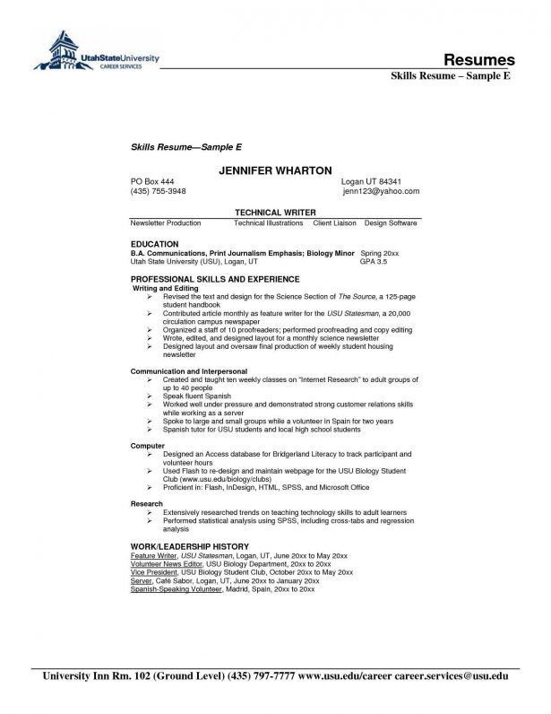 Resume : Design Skills Resume Cover Letter How Sandwich Artist ...