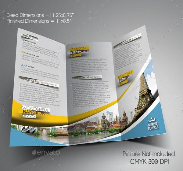 Vacation Brochure Template – 15+ Free PDF, PSD, AI, Vector EPS ...