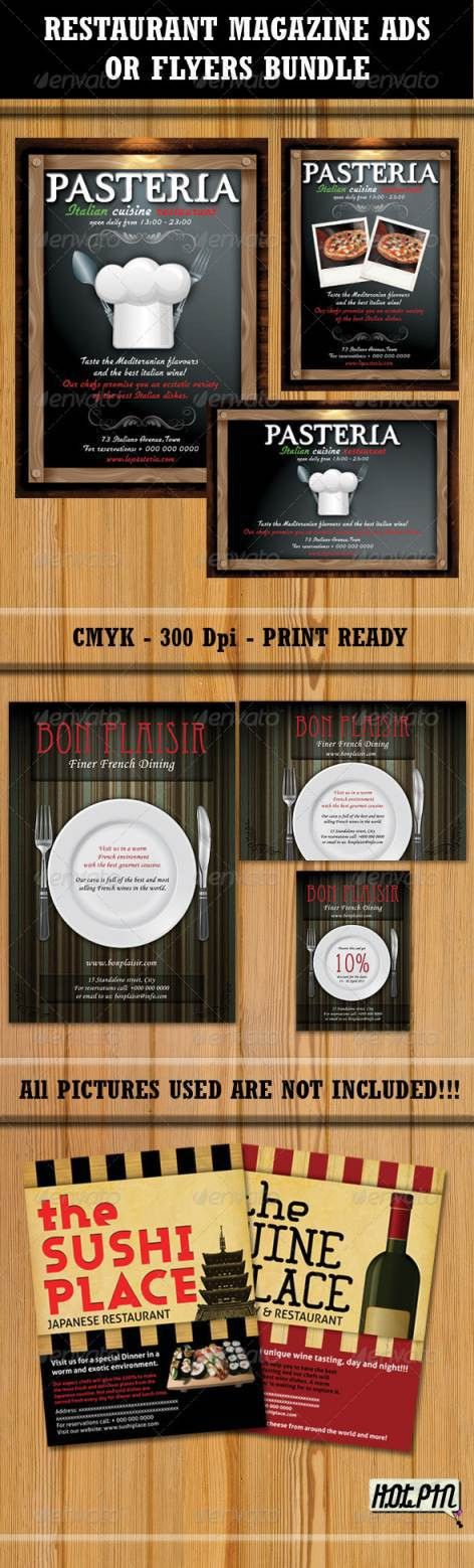 45+ Best Restaurant and Food Flyer Templates | Web Development ...