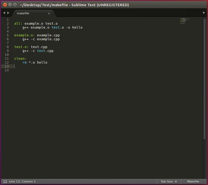 Setup 03 - GCC + Sublime [Linux]