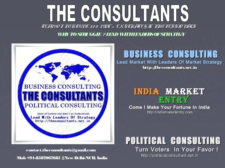 Business Consultant India Business Consultant Delhi Political Consult…