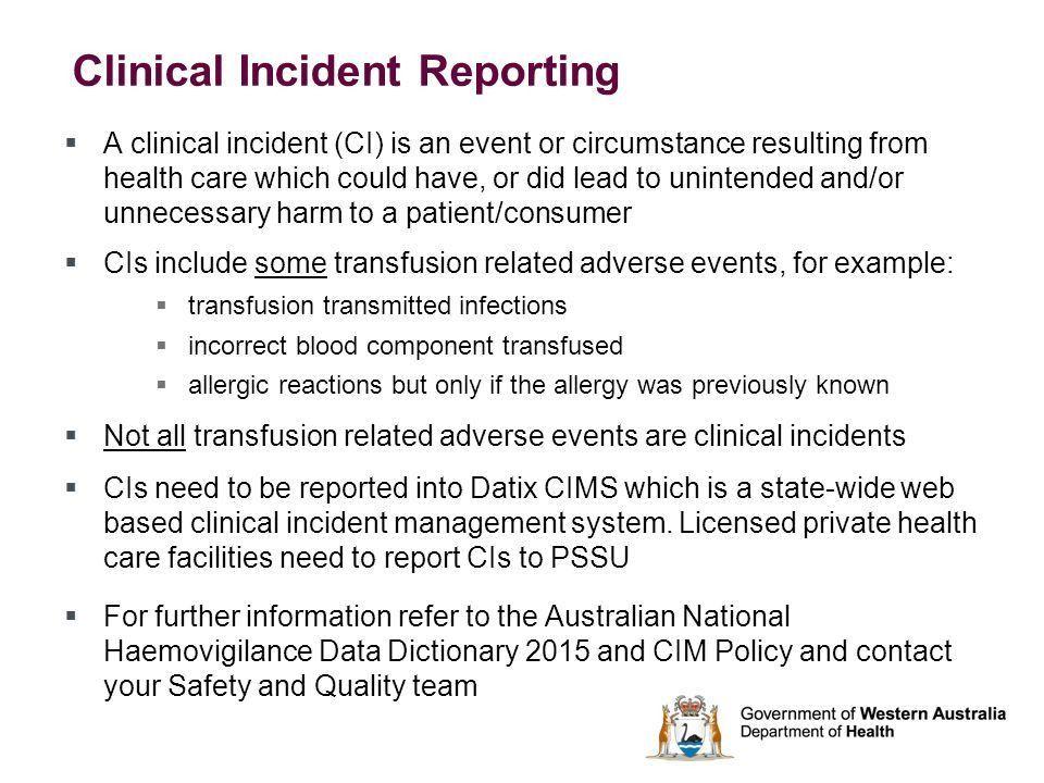 Quality Incident Report Template - Contegri.com