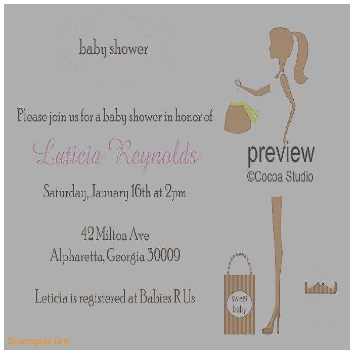 Baby Shower Invitation. Inspirational Baby Shower Online ...