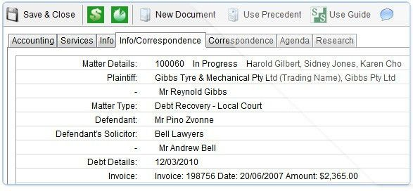 Legal Document Management Software & Legal Precedent Management ...