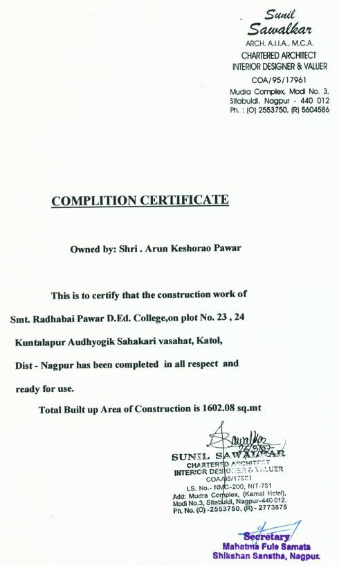Building Completion Certificate Sample Amazing Building Completion Certificate Sample Building Completion .
