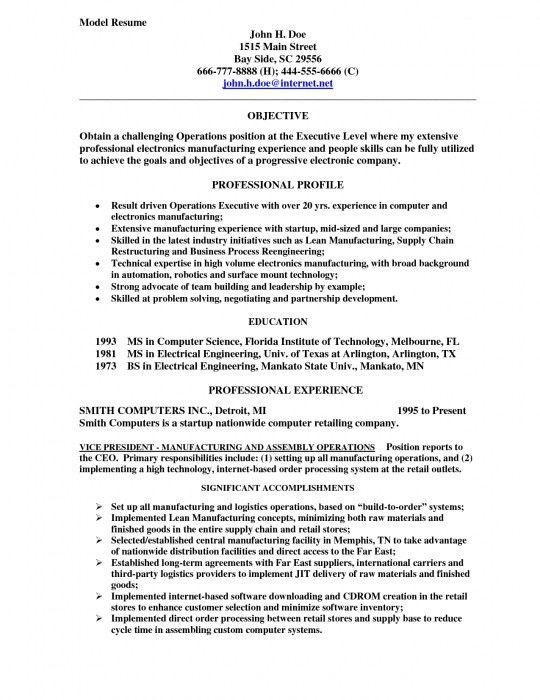 Elegant How To Make A Modeling Resume | Resume Format Web