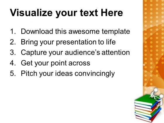 Share The Knowledge With Friends PowerPoint Templates Ppt ...