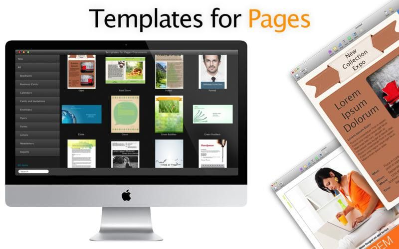 Templates for Pages Documents on the Mac App Store