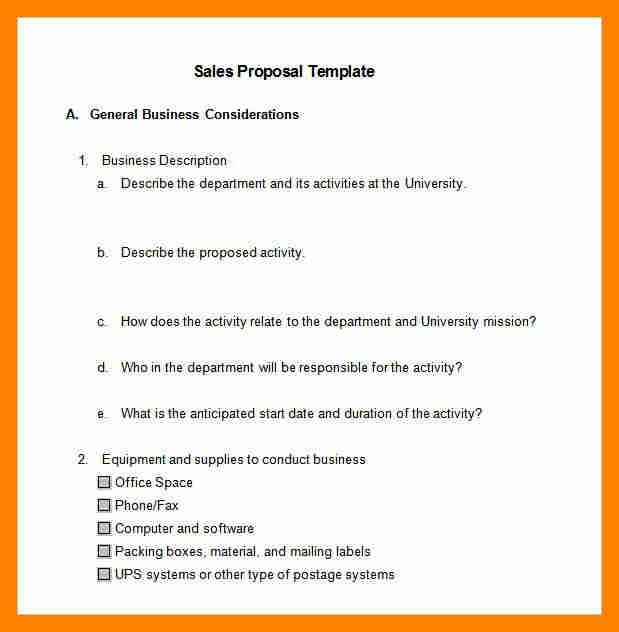 8+ sale proposal template | resume sections